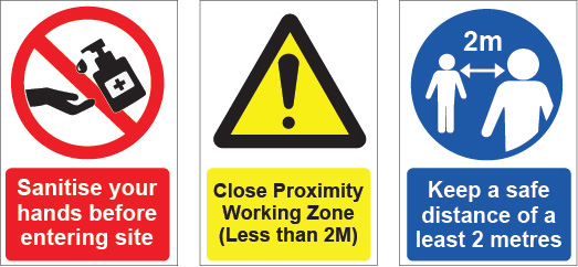 Covid-19 Protective PPE Signage